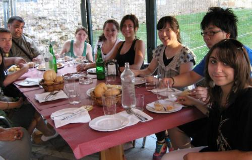 SSU students in Oviedo, Spain, Summer 2010