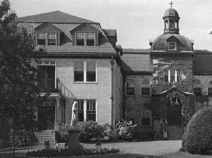 Ste Chretienne Academy and school in the late 1950's and 1960's