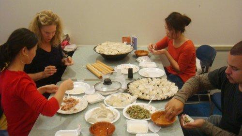 Chinese Dumpling Event, Fall 2011