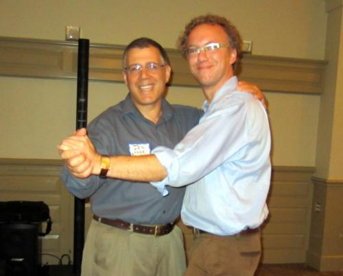 Even Profs. Aske and Reeds danced at the Soirée!