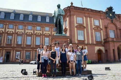 Anthony and friends in Germany
